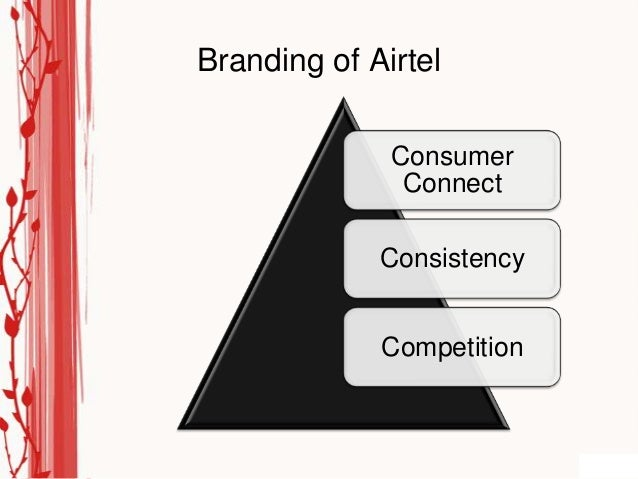 Branding of Airtel              Consumer               Connect             Consistency             Competition