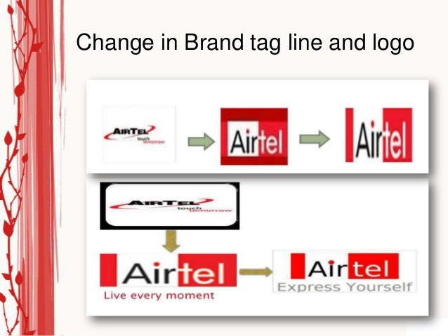 Change in Brand tag line and logo