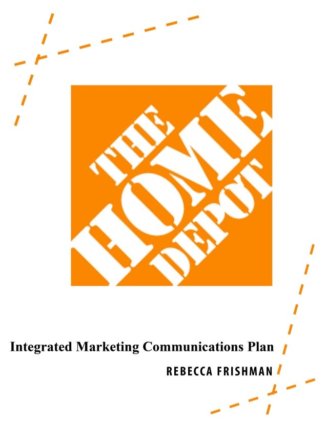 Home depot imc campaign wvu imc 610 2 the home depot is a home improvement store that provides solutioingenieria Image collections