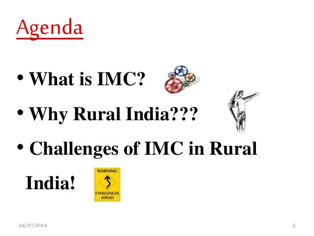 IMC (Integrated Marketing Communications) Strategies In Rural India: …