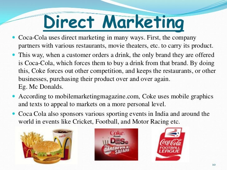 coca cola marketing position essay example