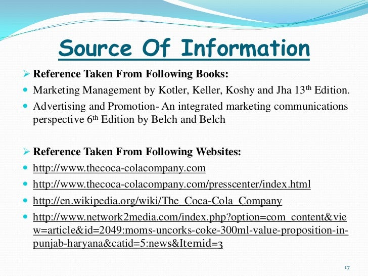 marketing information sources Components of marketing information system mis marketing information system (mis) collects, analyses, and supplies a lot of relevant information to the marketing managers it is a valuable tool for planning,  it collects information from external sources.
