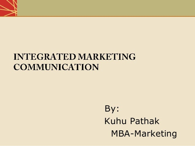 By: Kuhu Pathak MBA-Marketing