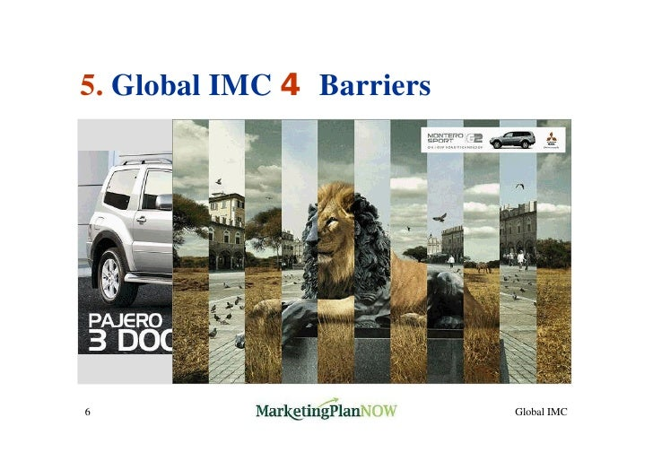 barriers to imc Despite its many benefits, integrated marketing communications, or imc, has many barriersin addition to the usual resistance to change and the.