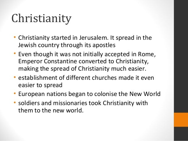 essay 5 european missionaries and the spread of christianity