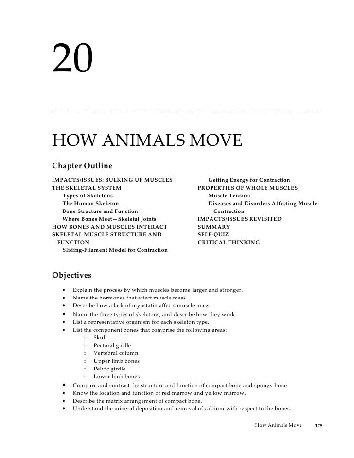 20______________________________________________________________________________________________HOW ANIMALS MOVEChapter Ou...
