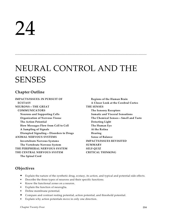 24______________________________________________________________________________________________NEURAL CONTROL AND THESENS...