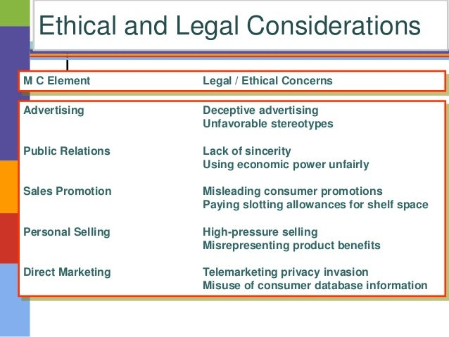 what are some of the ethical considerations in channel relations Legal and ethical issues in channel relations 66 companies are  legally free to  take some or all of the rest of the product lines.