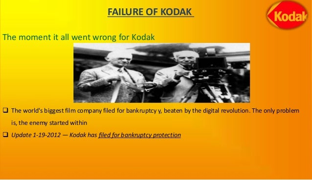 kodak and the digital revolution Kodak & the digital revolutionby amit100 | 9-705-448rev: november 2, 2005giovanni gavettirebecca hendersonsimona giorgikodak and the digital revolution (a)in february 2003, daniel a carp.