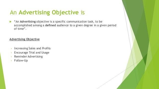Imc presentation   advertising objectives Slide 2