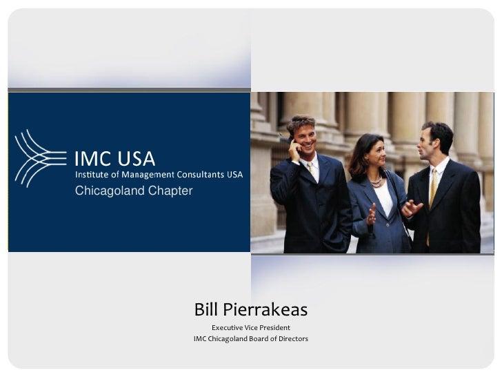 Chicagoland Chapter                           Bill Pierrakeas                            Executive Vice President         ...