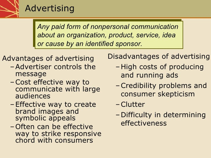 disadvantages of marketing mix In this article, we've examined advantages and disadvantages of  in a nutshell,  competitive pricing strategy requires a detailed market.
