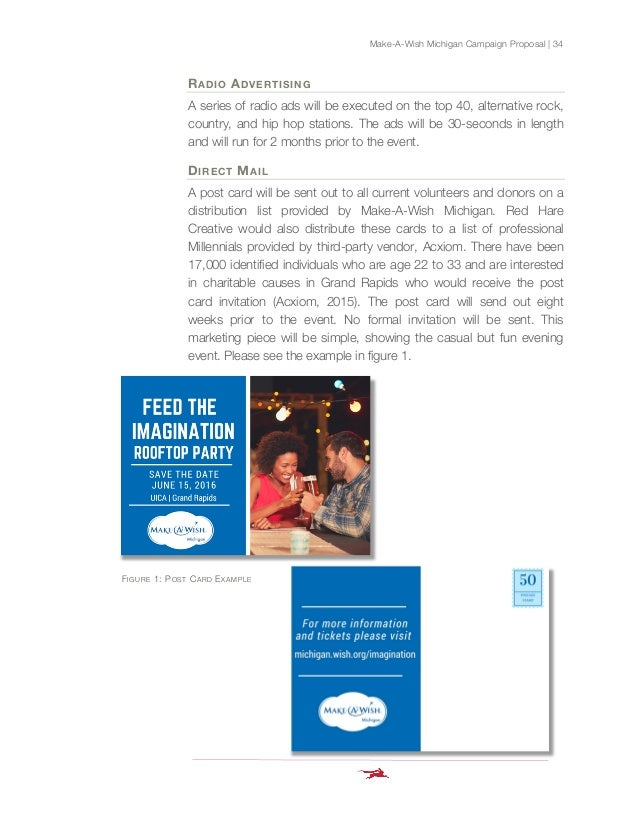 integrated marketing communications proposal. Black Bedroom Furniture Sets. Home Design Ideas