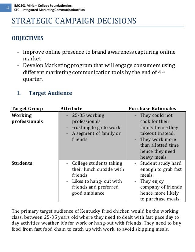 marketing objectives for kfc Brands' international product strategy: how the double down went global by rachel tepper 190 140 the chief marketing officer for kfc.