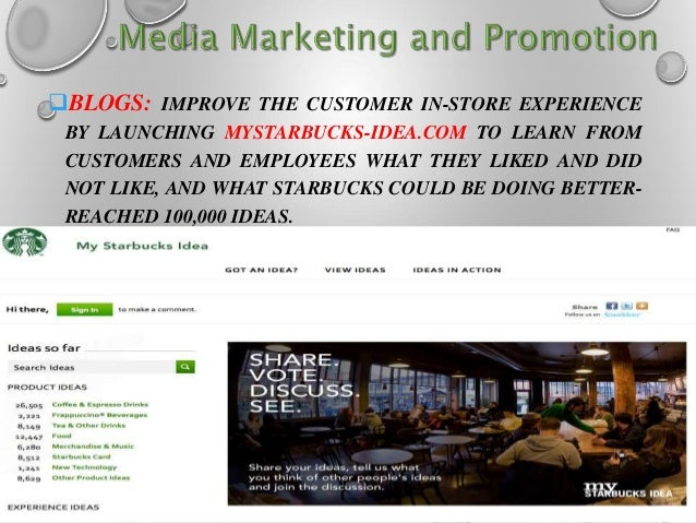 integrated marketing communications starbucks essay