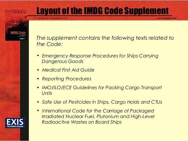 mdg codes rh slideshare net Dangerous Goods IMDG Code List IMDG-Code 2018