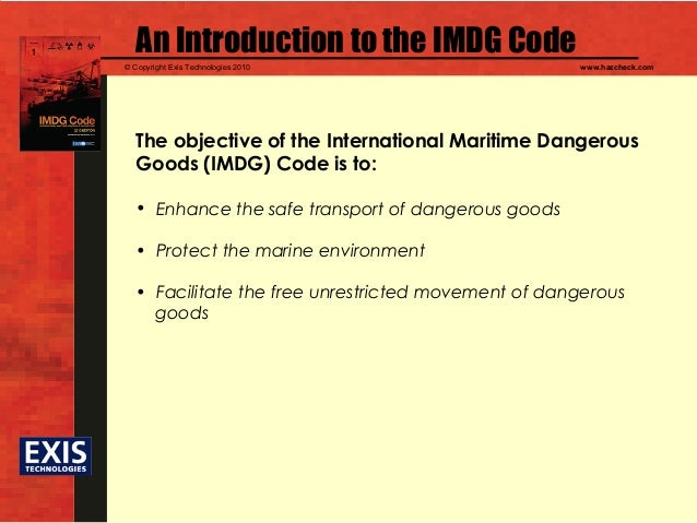 Pdf imdg code international maritime dangerous goods code.
