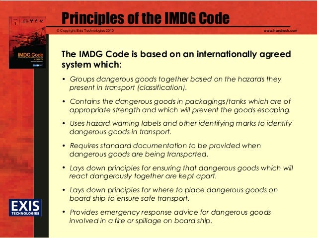 Imo e-reader kh210e imdg code supplement, 2010 edition.