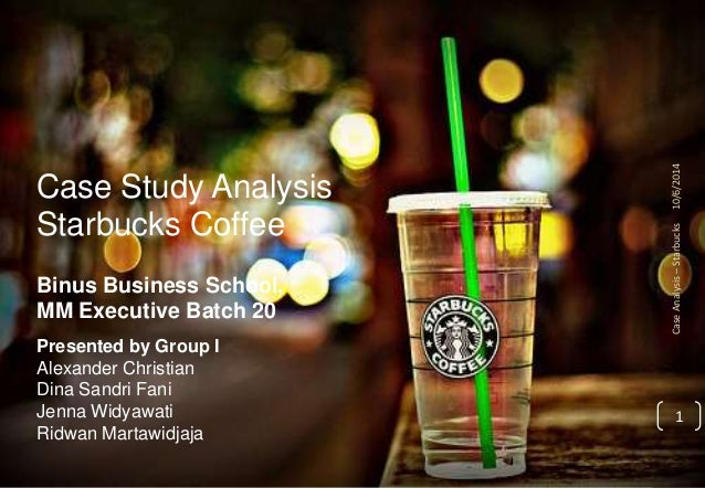 case study just who is the starbucks customer Rather than just treating the home and office as starbucks: delivering customer service what factors accounted for more about starbucks coffee case study.