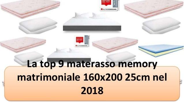 Test Materassi Altroconsumo.La Top 9 Materasso Memory Matrimoniale 160x200 25cm Nel 2018