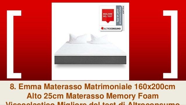 Materassi Altroconsumo Test.La Top 9 Materasso Memory Matrimoniale 160x200 25cm Nel 2018