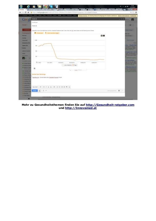 Mehr zu Gesundheitsthemen finden Sie auf http://Gesundheit-ratgeber.com und http://Innovamed.at