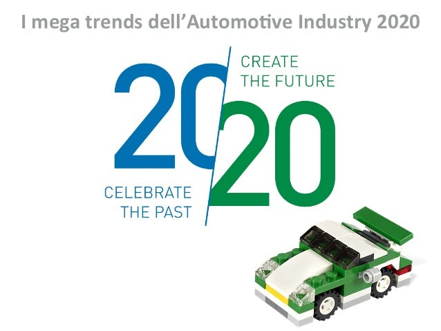 I	   mega	   trends	   dell'Automo1ve	   Industry	   2020