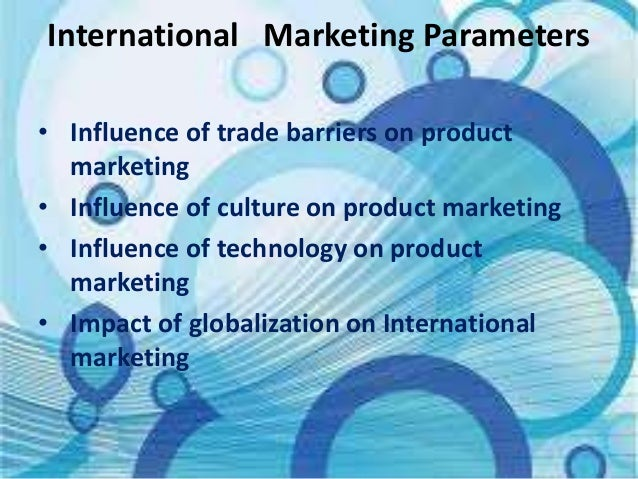 an analysis of international marketing Also known as gmid (global market information database)  essential for the  analysis of world trade, investment, international financial flows,.