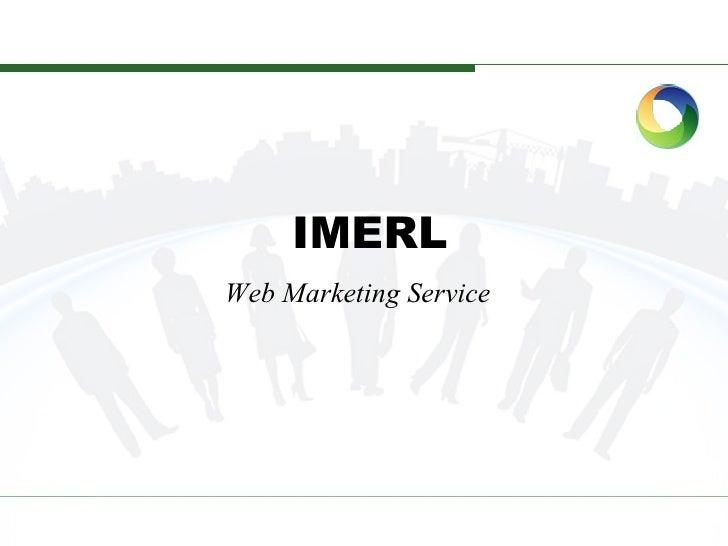 IMERL Web Marketing Service