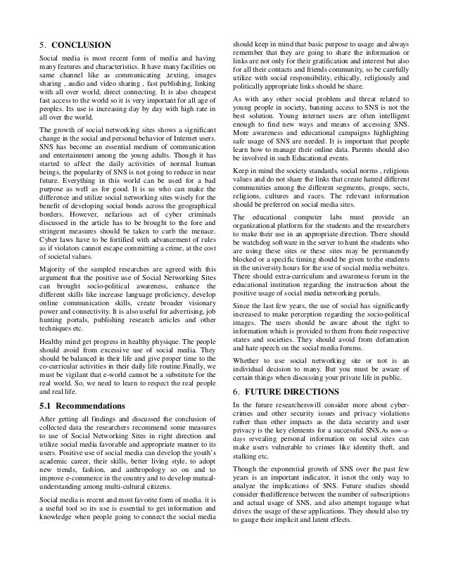 research paper on social networking advertising
