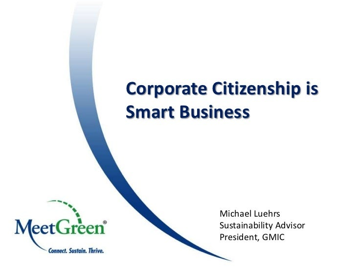 Green With EnvyFirst Class, Sustainable Events                            Corporate Citizenship isNancy J. Zavada, CMP    ...