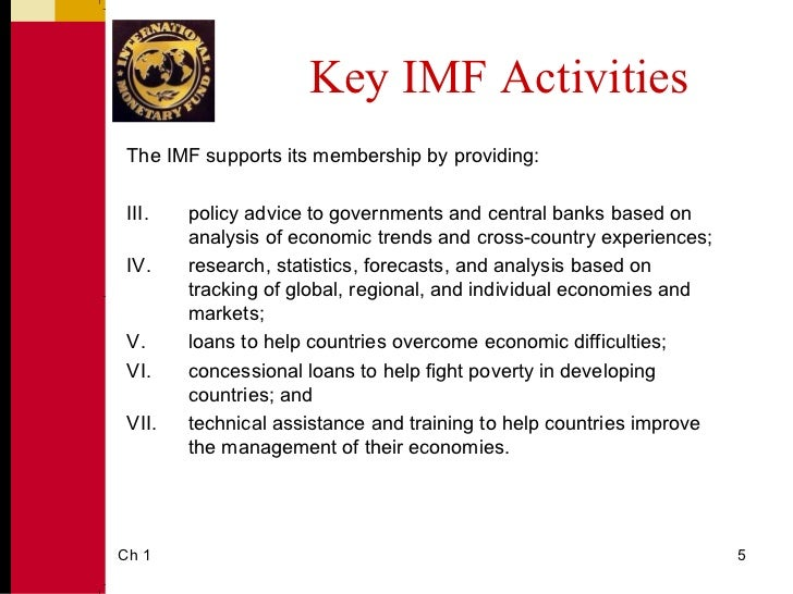 the international monetary fund essay The international monetary fund (imf) is an international organization that provides financial assistance and advice to member countries this article will discuss the main functions of the organization, which has become an enduring institution integral to the creation of financial markets worldwide and to the growth of developing countries.