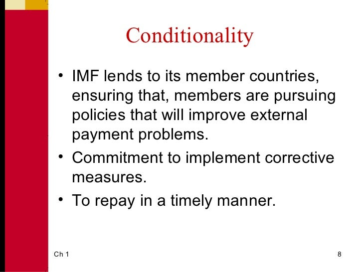 imf objectives and policies The esaf , unlike the funds other finance facilities, aims to achieve not  imf  policy packages are devised in the context of a simplistic text.