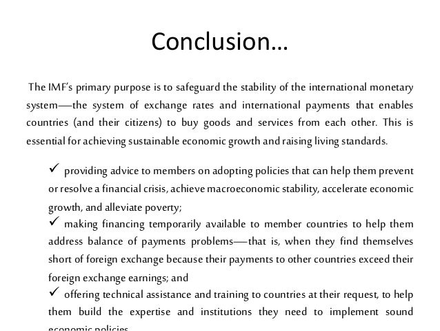 imf and world bank relationship
