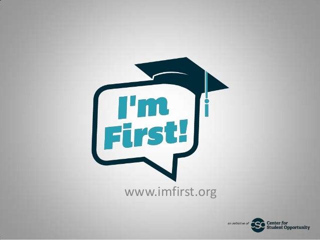 www.imfirst.org
