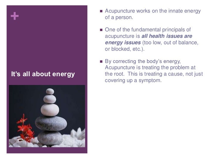 5 Reasons why Acupuncture is Right for you Slide 3