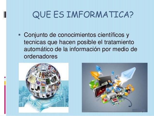 Imformatica y convergencia tecnologica presentacion Slide 2