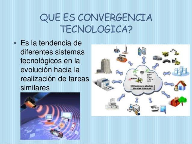 Imformatica y convergencia tecnologica presentacion Slide 3