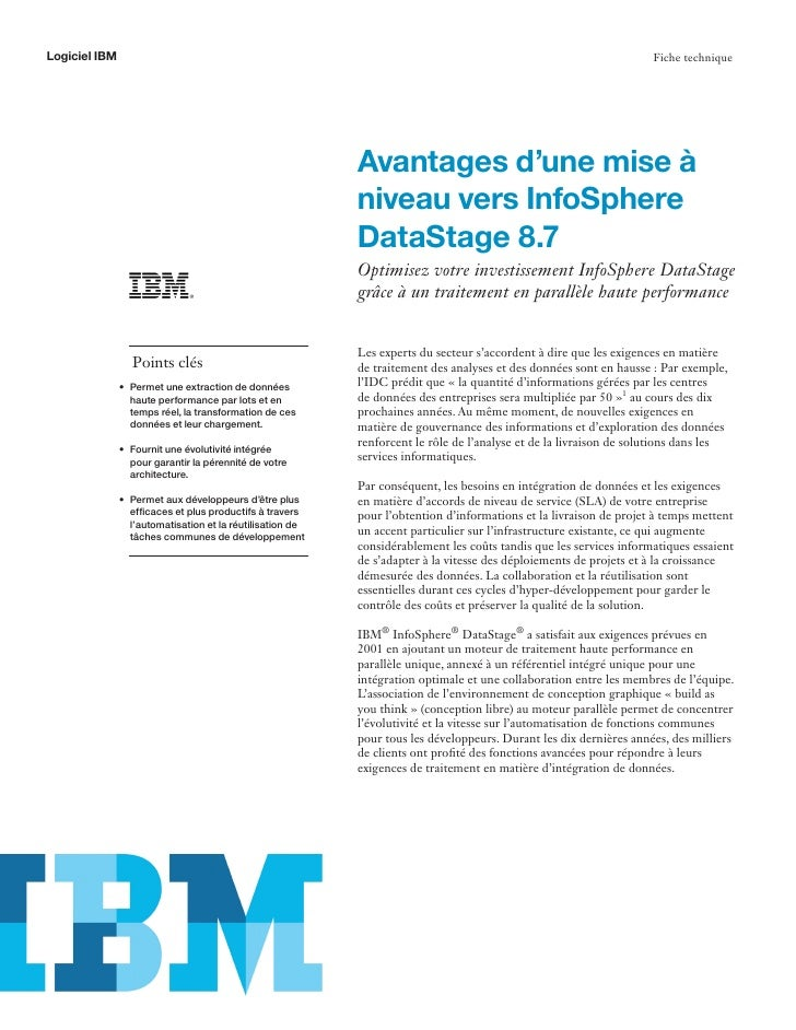 Logiciel IBM                                                                                                         Fiche...