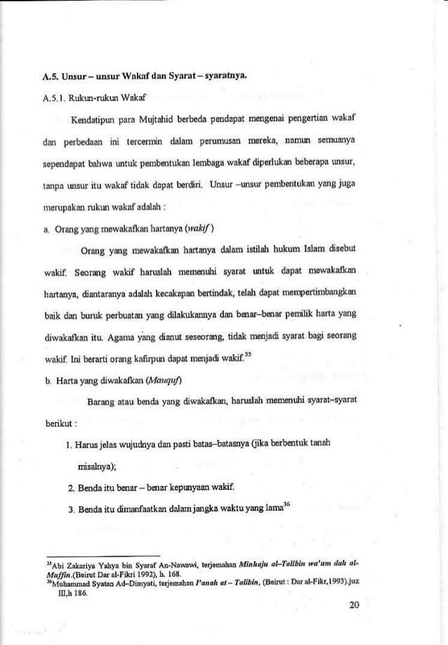 3 Skripsi Analisis Pengelolaan Wakaf Tunai Di Indonesia Hal 20 32