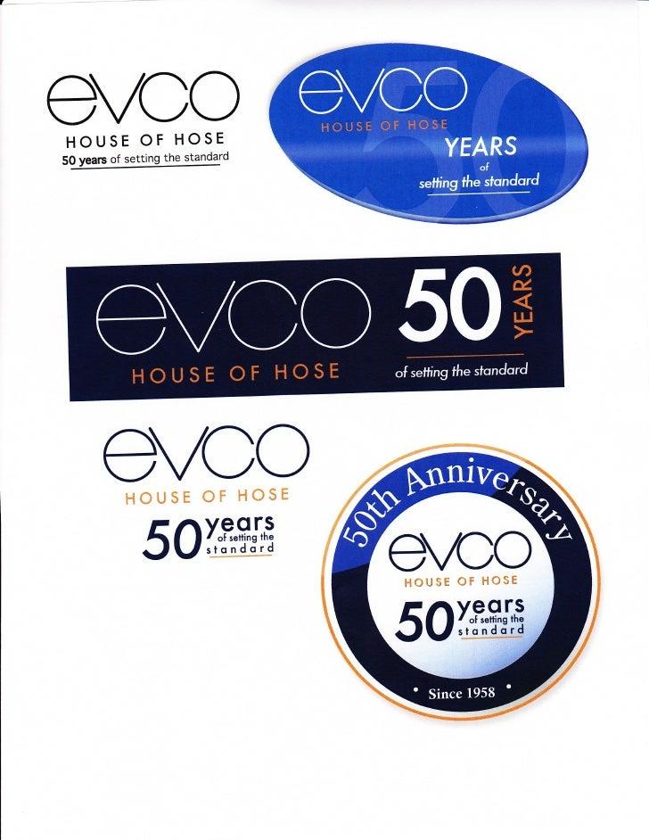 Evco 50th Anniversary Logo