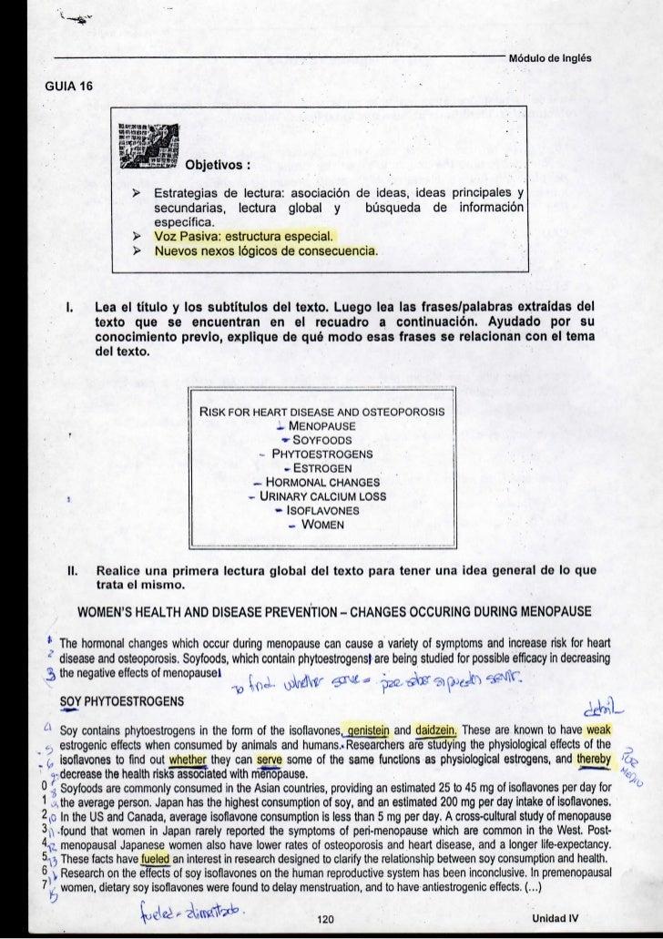 Módulo de Inglés GUIA 16                                Objetivos                         Estrategias de lectura: asociaci...