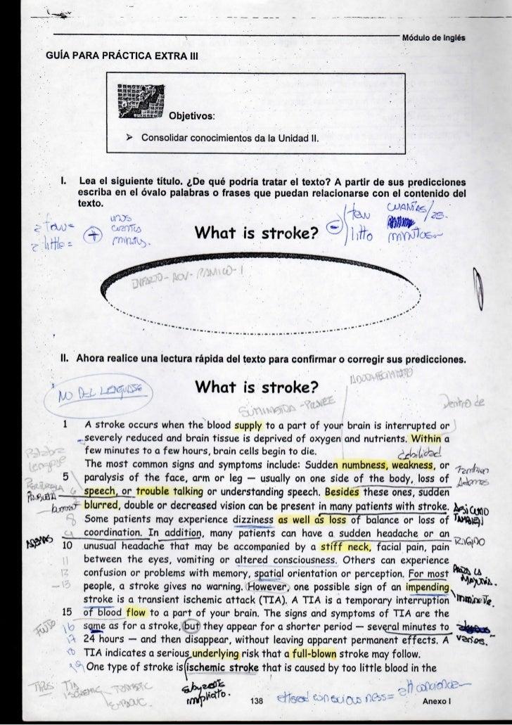 Módulo de Inglés    GUÍA PARA PRÁCTICA EXTRA III                                   Objetivos:                         > Co...