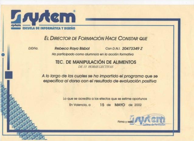 Certificado de manipulador de alimentos - Certificado manipulador de alimentos gratis ...