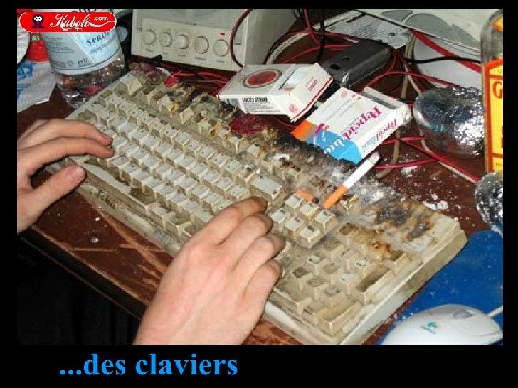 ...des claviers