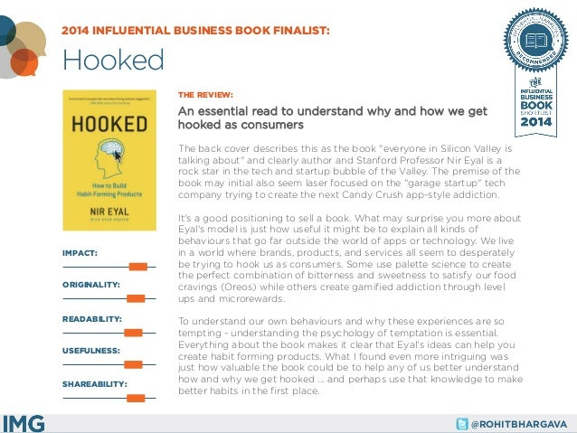 @ROHITBHARGAVA  IMPACT:  THE REVIEW:  An essential read to understand why and how we get hooked as consumers  The back cov...