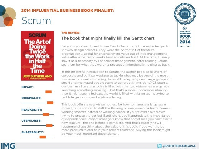 @ROHITBHARGAVA  IMPACT:  THE REVIEW:  The book that might finally kill the Gantt chart  Early in my career, I used to use ...