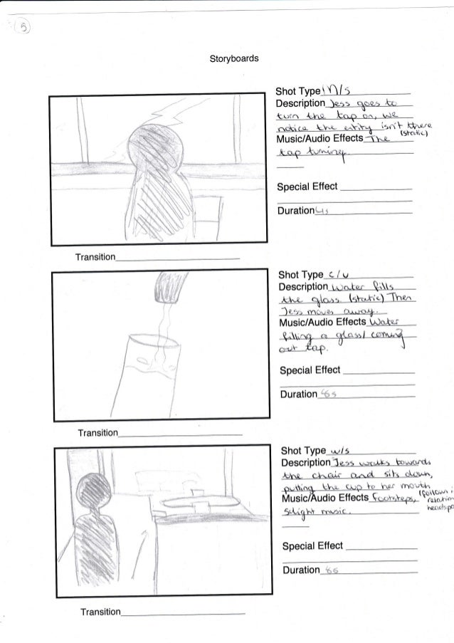 Storyboard For Film
