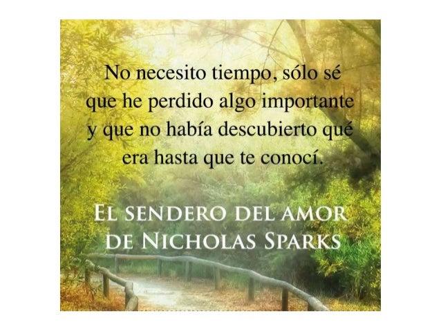 Frases De Libros De Nicolas Sparks