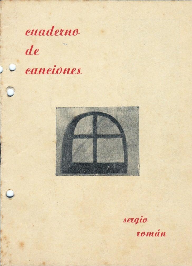 Imágenes de Cuaderno de Canciones